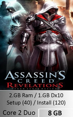 Assassins Creed Revelations  [ 8 GB ]